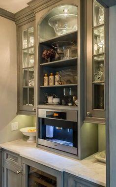 Kitchen Butlers Pantry, Butler Pantry, New Kitchen, Kitchen Appliances, Kitchen Ideas, Copper Appliances, Pantry Cupboard, Barn Kitchen, Kitchen Cupboards