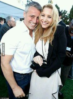Phoebe Buffay and Joey Tribbiani!!!