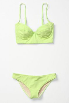anthropologie Lime Suit.