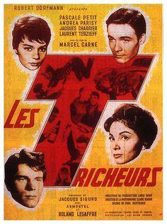 1959 Meilleure Actrice Pascale PETIT 1959 Meilleur Acteur Jacques CHARRIER
