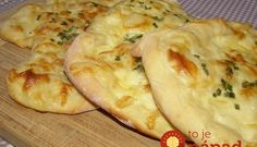 Brze lepinje sa jogurtom i sirom - Mali kuhar Bosnian Recipes, Croatian Recipes, Bosnian Food, Pub Food, Bread And Pastries, Food Staples, Bread Baking, Food Inspiration, Love Food