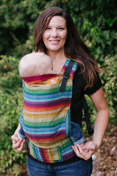 TULA Baby Carriers | Toddler Carriers — (Standard Size) Half Wrap Conversion Tula Baby Carrier - Girasol REBEL