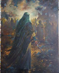 Ya Hussain Wallpaper, Imam Hussain Wallpapers, Karbala Pictures, Battle Of Karbala, Hussain Karbala, Wallpaper Earth, Religious Photos, Baroque Painting, Islamic Posters