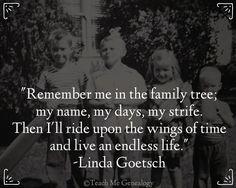 Teach Me Genealogy