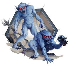 Morlocks - A Closer Look Creature Picture, Pathfinder Rpg, The Time Machine, Closer, Sketches, Fantasy, Anime, Pictures, Painting