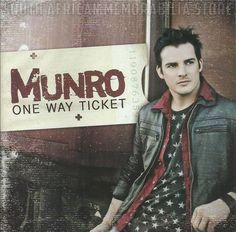 MUNRO DU TOIT - One Way Ticket - South African Idols CD CDCLL7075 *New*