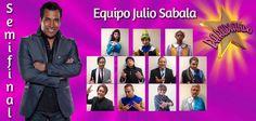 14 de Julio - July 14 equipo Julio Sabala para la semifinal. / Julio Sabala team for the semifinal.