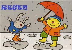 Regen - Boeken/versjes - UK&Puk. afbeelding bij Uk en Puk