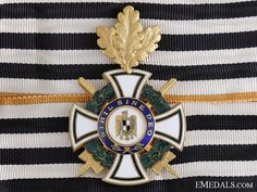A Romanian Order of the Ruling House; Commander's Cross Badges, Military, House, Home, Badge, Homes, Military Man, Houses, Army