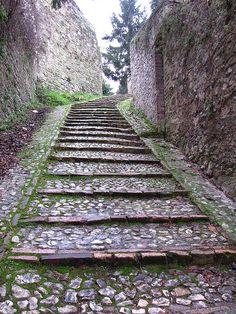 Ancient steps, Spoleto