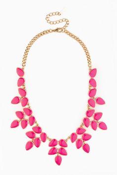 Aerona Necklace in Fuchsia