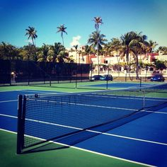 Nice memories of playing tennis in Florida with my Dad and friends when I was younger.