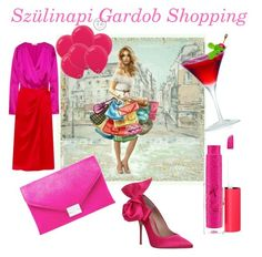 """Szülinapi Gardrob Shopping"" by nori-galanfy on Polyvore featuring beauty, Attico, Loeffler Randall, Kurt Geiger and MAC Cosmetics"