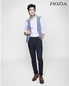 Kim Soo Hyun (김수현) for ZIOZIA (지오지아) 2012 F/W #11 #KimSooHyun #SooHyun #ZIOZIA