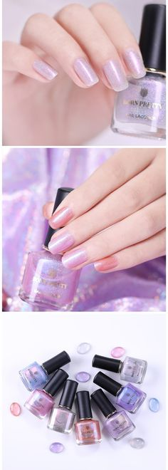Hi Happy day, how do you spend your weekday? Will do you plan to design your nails? More new products are coming:) Born Pretty Nail Polish, Best Gel Nail Polish, Pretty Nails, Holographic Glitter, Glitter Nail Art, Nail Art Supplies, Us Nails, Nail Stamping, Nail Manicure