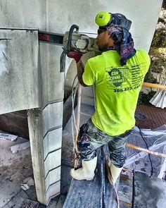 No Overcuts  #keybiscayne #concretecutting #concreteconnection #construction #miami #generalcontractor #demolition #florida #speedy #concrete #constructionsite