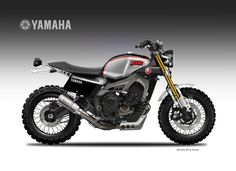 "Motosketches: YAMAHA XSR 900 DIRTIEST SONS ""LIVERIES"""