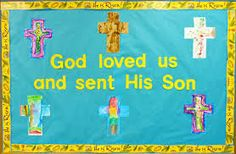 easter bulletin boards for church - Google Search