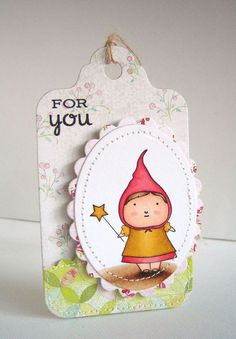Poppystamps' cute Fiona Fairy and Memory Box Pixie Paper Collection... all are available at www.stampassion.com.