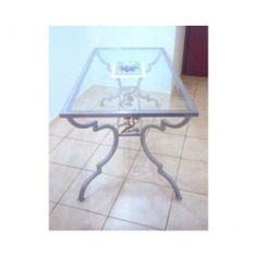 Table wrought iron. Coffee Table. Customize Realizations. 655