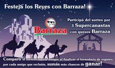 Festejá los Reyes con Barraza!