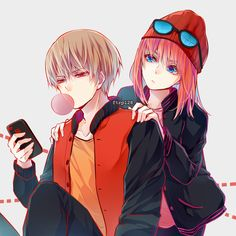 Kagura x Okita Sougo - Gintama Anime Couple Love, Manga Couple, Anime Couples Manga, Cute Anime Couples, Photo Couple Amoureux, Manga Romance, Onii San, Anime Amor, Gintama