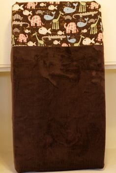 Baby sewing Changing pad cover, burp cloths, car seat cover and receiving blanket