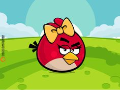 Angry birds want to be sweet and adorable too. With Valentines Days just around the corner they will trade angry for sweet, cute and lovable. Cumpleaños Angry Birds, Angry Birds Seasons, Festa Angry Birds, Bird Coloring Pages, Coloring Pages For Kids, Angry Birds Characters, Bird Birthday Parties, 8th Birthday, Angry Girl