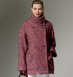 Patron de manteau - Vogue 9136