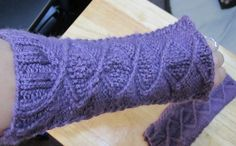 Doctor Who inspired arm warmers