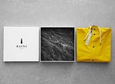 Rickey Lindberg→RAINS RAINS is a new Scandinavian rainwear brand with a mission to create exclusive, fashionable and functional rainwear... By creating a simple lighthouse as a symbol, RAINS now has a much richer storytelling and value surrounding the brand. Task : Brand Management, Brand Identity, Packaging Year : 2012