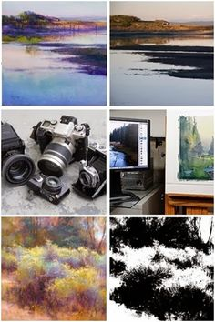 Use Your Camera as a Tool for Better Paintings - Learn tips and techniques in a dozen free lessons by Richard McKinley at ArtistsNetwork.com