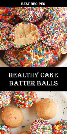#HEALTHY #CAKE #BATTER #BALLS Risotto Recipes, Easy Soup Recipes, Best Dinner Recipes, Top Recipes, Easy Chicken Recipes, Salmon Recipes, Bread Recipes, Appetizer Recipes, Dessert Recipes
