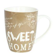 12OZ Coffee Design Decal Mug