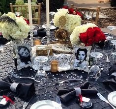 Old Hollywood bridal shower for Natalie Buscemi - Fabulous!!