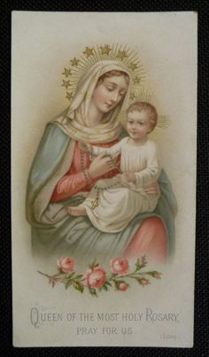 QUEEN OF THE MOST HOLY ROSARY,  PRAY FOR US