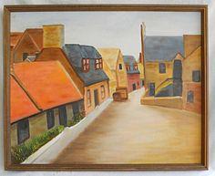 Dealer or Reseller Listed US Art Paintings Cubist Paintings, Art Paintings For Sale, Naive, Earth Tones, Folk Art, Primitive, Antiques, Street, Modern