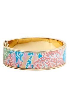 Lilly Pulitzer® 'Boca' Print Bangle available at #Nordstrom