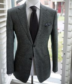 Standard grey suit