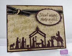 Kendra Wietstock; Crafter's Companion; Die'Sire Christmas Classiques Die - Nativity