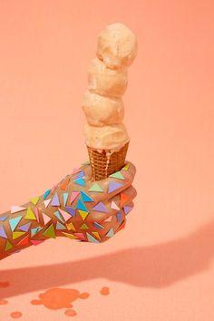 Ice cream cone, design
