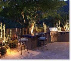 Love this Southwest patio.