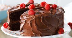 Bolo de chocolate saudável sem farinha Bolos Light, Bolo Diet, Pasta, Pudding, Banana, Cake, Desserts, Food, Gluten Free Chocolate Cake