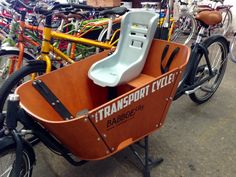 The Babboe Toddler Seat: just the thing for little ones in the Babboe City Cargo Bike or Babboe Big Cargo Bike.