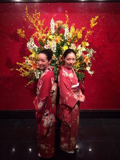 Kimono twins