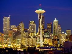 Seatle Space Needle - so amazing standing at the top and looking out. Completely beautiful. We could see Bremerton Washington which is where my mom born - I had heard of Bremerton my whole life so it was serile to be there...