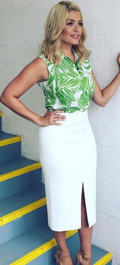 Why Holly Willoughby will *never* talk about her weight or fitness regime.