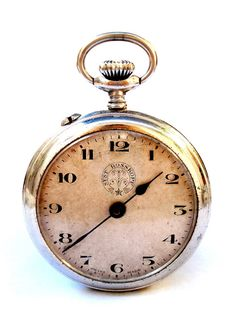 Antiguo Reloj Bolsillo Suizo ROSSKOPF Open Face por shopvintage1