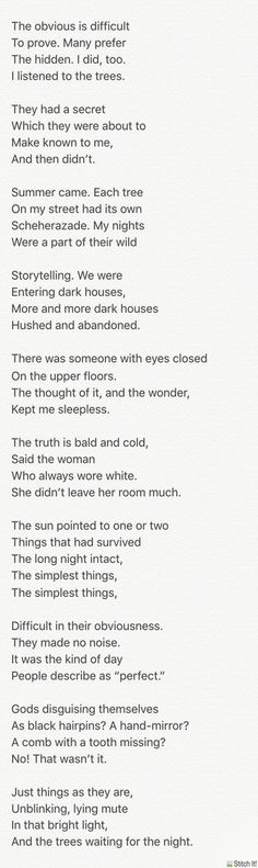 """""""The White Room"""" by Charles Simic"""