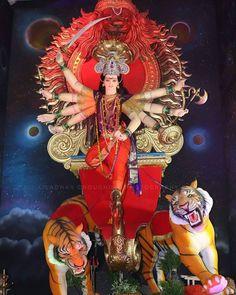 Durga Ji, Durga Goddess, Clay Ganesha, Kali Hindu, Devon Ke Dev Mahadev, Mata Rani, Photo Background Images, Mother Goddess, Shiva Shakti